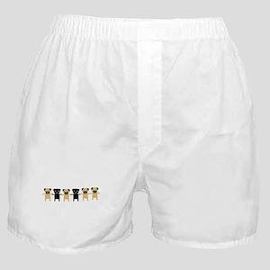StringOPugs Boxer Shorts