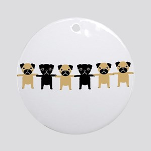 StringOPugs Ornament (Round)