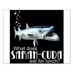 Sarah-Cuda's Lunch Small Poster