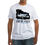 Sarah-Cuda's Lunch Fitted T-Shirt