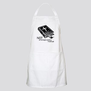 Not a Foreign Policy Manual BBQ Apron