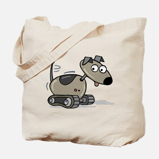Robopuppy Tote Bag