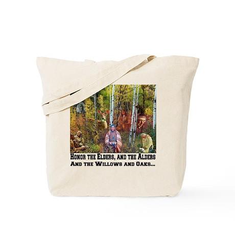 Honor the Elders Tote Bag