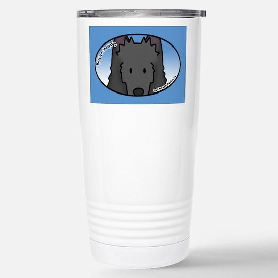 Anime Belgian Sheepdog Stainless Steel Travel Mug