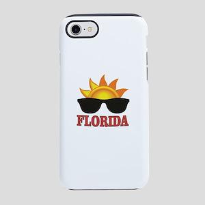 florida art shades iPhone 8/7 Tough Case