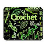 Crochet Green Mousepad