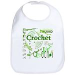 Crochet Green Bib