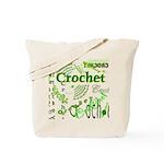 Crochet Green Tote Bag