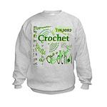 Crochet Green Kids Sweatshirt