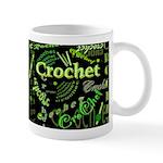 Crochet Green Dark Mug