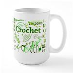 Crochet Green Large Mug