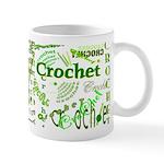 Crochet Green Mug