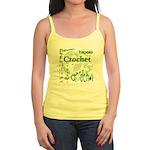 Crochet Green Jr. Spaghetti Tank