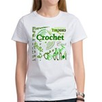 Crochet Green Women's T-Shirt