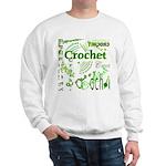 Crochet Green Sweatshirt