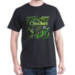 Crochet Green Dark T-Shirt