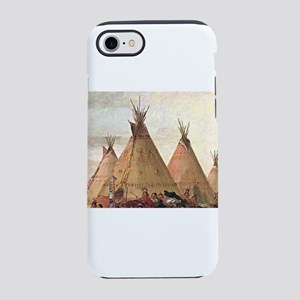 tepee home house iPhone 8/7 Tough Case