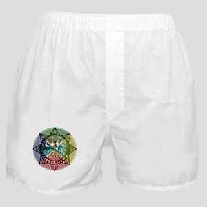 Elemental Mandala Boxer Shorts