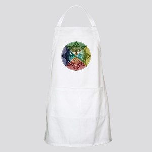 Elemental Mandala BBQ Apron