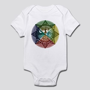 Elemental Mandala Infant Bodysuit