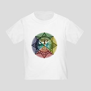 Elemental Mandala Toddler T-Shirt