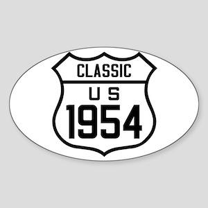 Classic US 1954 Sticker