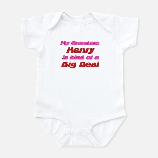 My Grandson Henry - Big Deal Infant Bodysuit