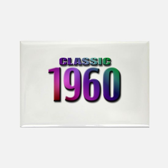 Classic 1960 Rectangle Magnet (10 pack)