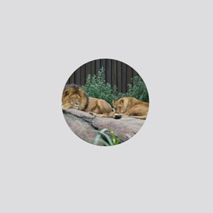 Sleepy Lions Mini Button