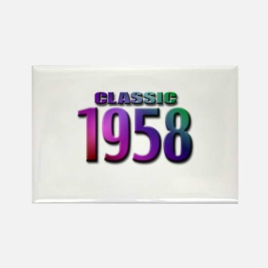 Classic 1958 Rectangle Magnet (10 pack)