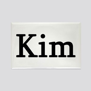 Kim - Personalized Rectangle Magnet