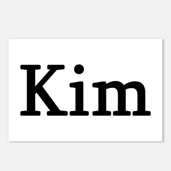 Kim - Personalized Postcards (Package of 8)
