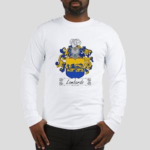 Lombardo Family Crest Long Sleeve T-Shirt