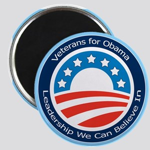 Veterans for Obama Magnet