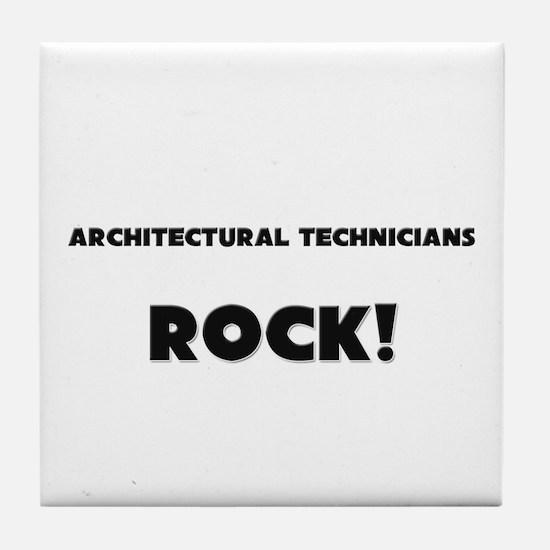Architectural Technicians ROCK Tile Coaster