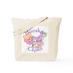 Baoshan China Map Tote Bag
