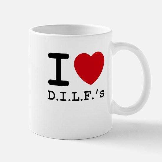 I heart D.I.L.F.'s Mug