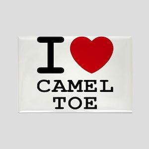 I heart camel toe Rectangle Magnet