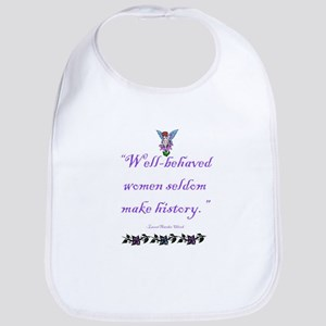 Well-behaved baby Bib