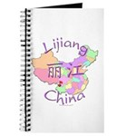 Lijiang China Map Journal