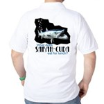 Sarah-Cuda's Lunch Golf Shirt