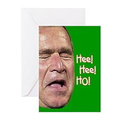 Bush Laugh Greeting Cards (Pk of 20)