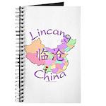 Lincang China Map Journal