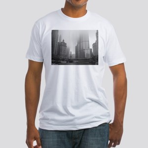 Chicago Rain Fitted T-Shirt