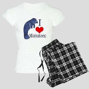 Cute Manatee Women's Light Pajamas