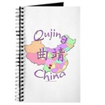 Qujing China Map Journal