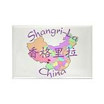 Shangri-La China Rectangle Magnet (10 pack)