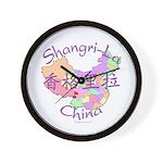 Shangri-La China Wall Clock