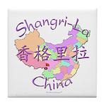 Shangri-La China Tile Coaster