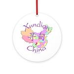 Xundian China Ornament (Round)